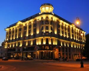 Hotel Bristol in Warsaw, Poland.