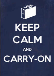 keep calm and carry-on