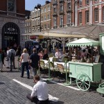 London Covent Garden Outdoor Cafe