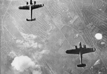 German Bombers over London WWII