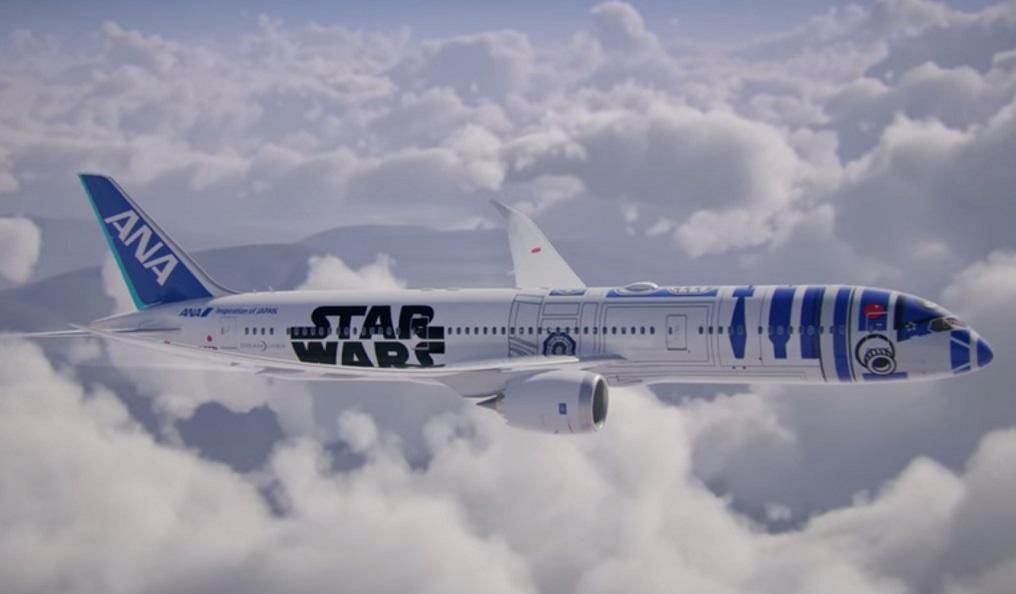 ANA Star Wars Dreamliner