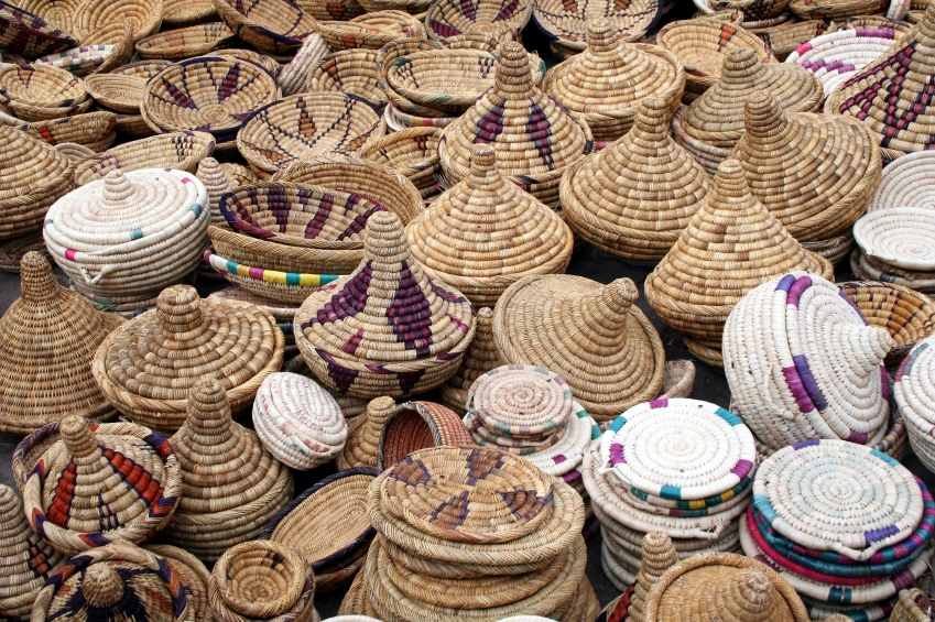Morocco Market Baskets