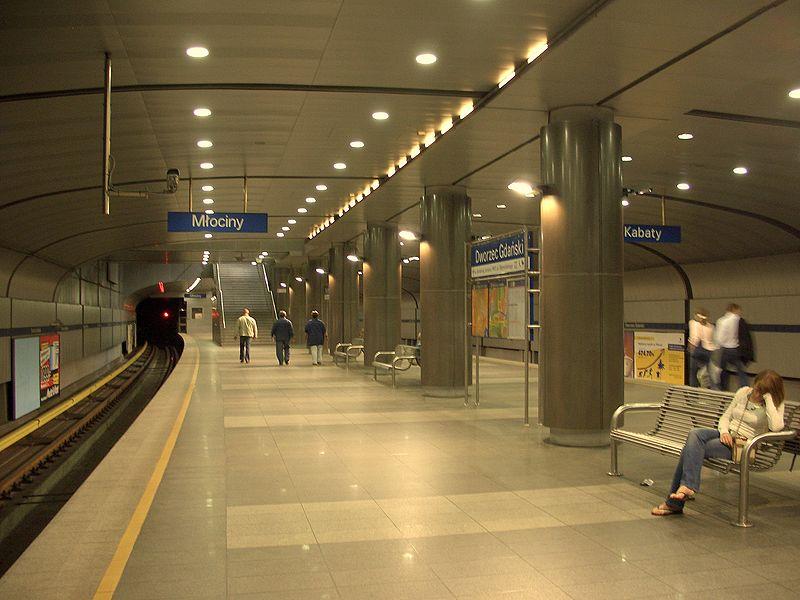 Warsaw Metro station - A-17 Dworzec Gdański