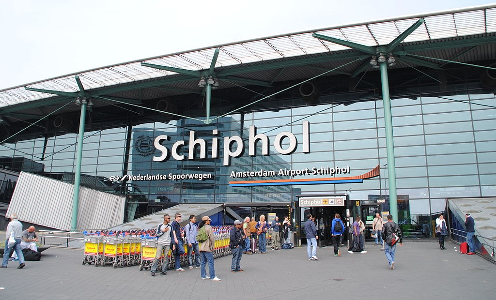Amsterdam Schiphol Airport entrance