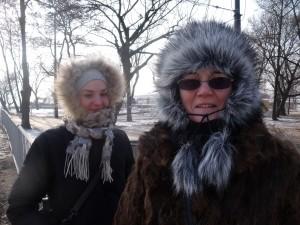 Sonia Maria Pietraszewska and Mama Kwiatuszyńska