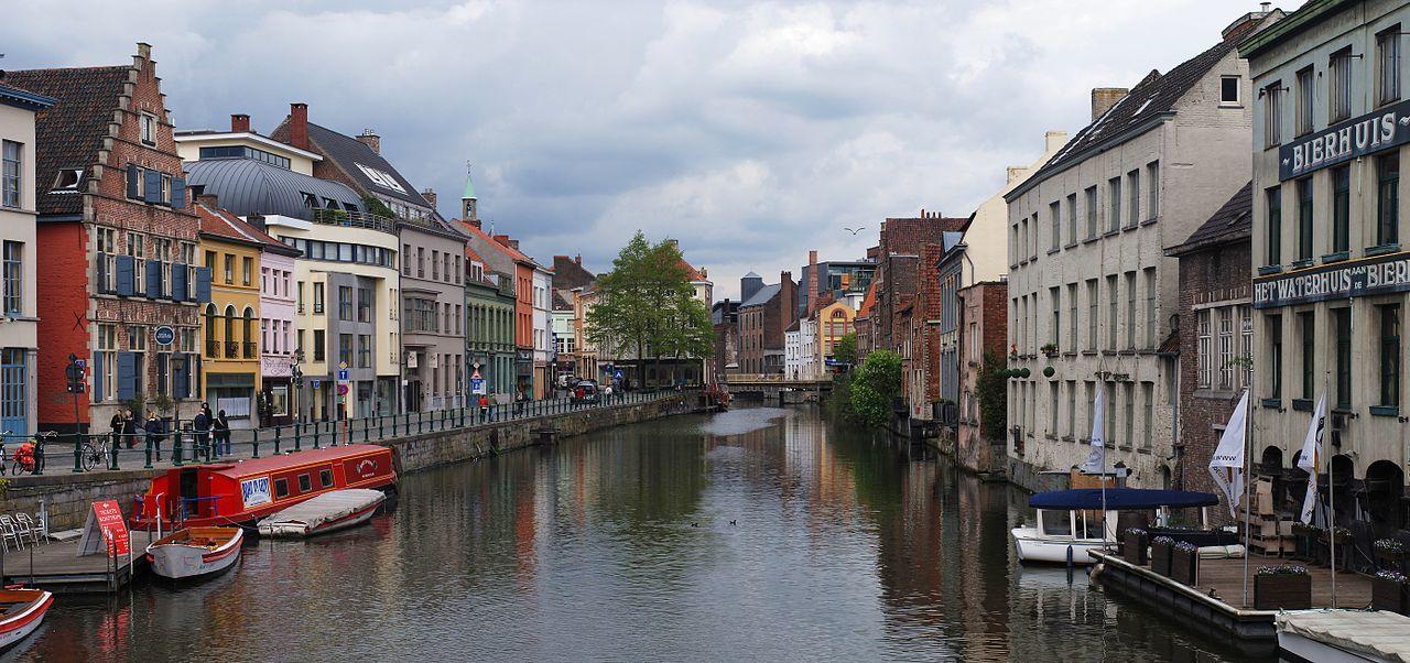 Ghent Belgium canal