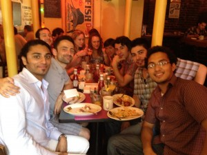 Brunch with the CS NYC gang at Great Jones Cafe