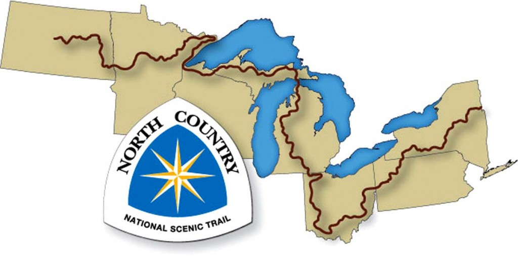 north country trail map