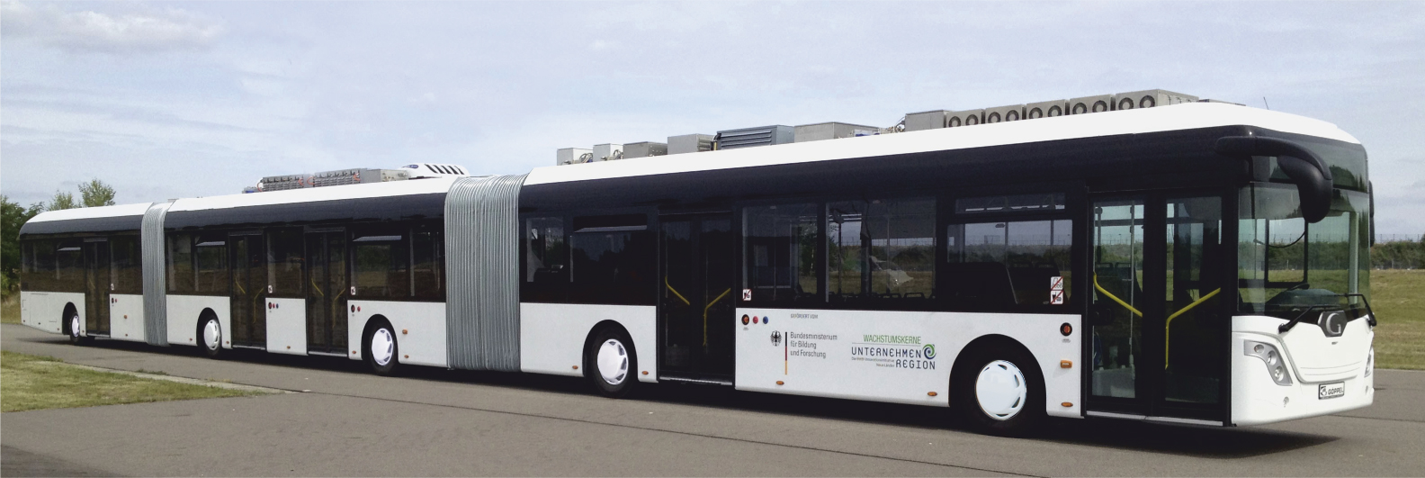 Longest bus in the world coming to Dresden, Germany