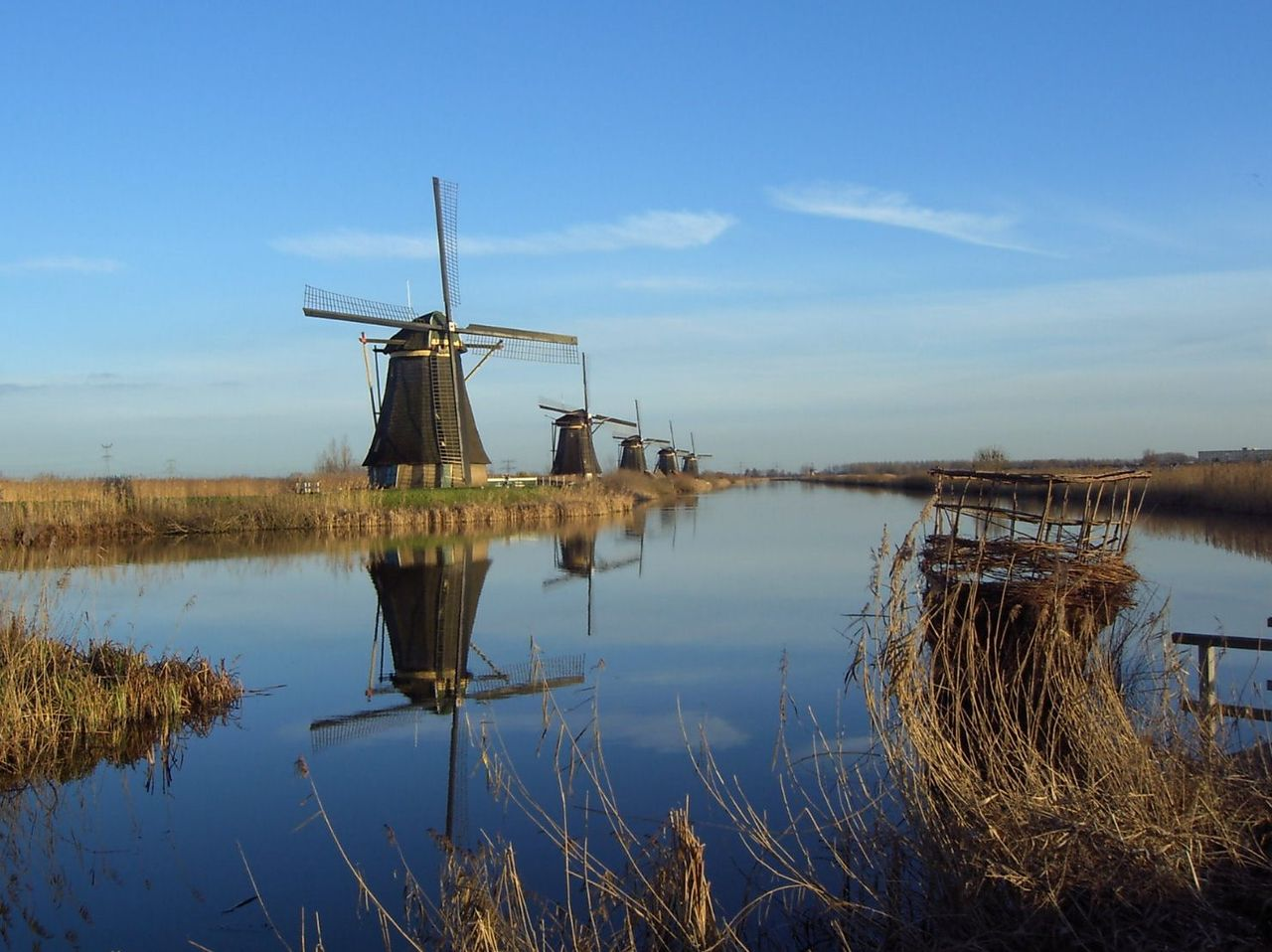 Kinderdijk windmills Netherlands