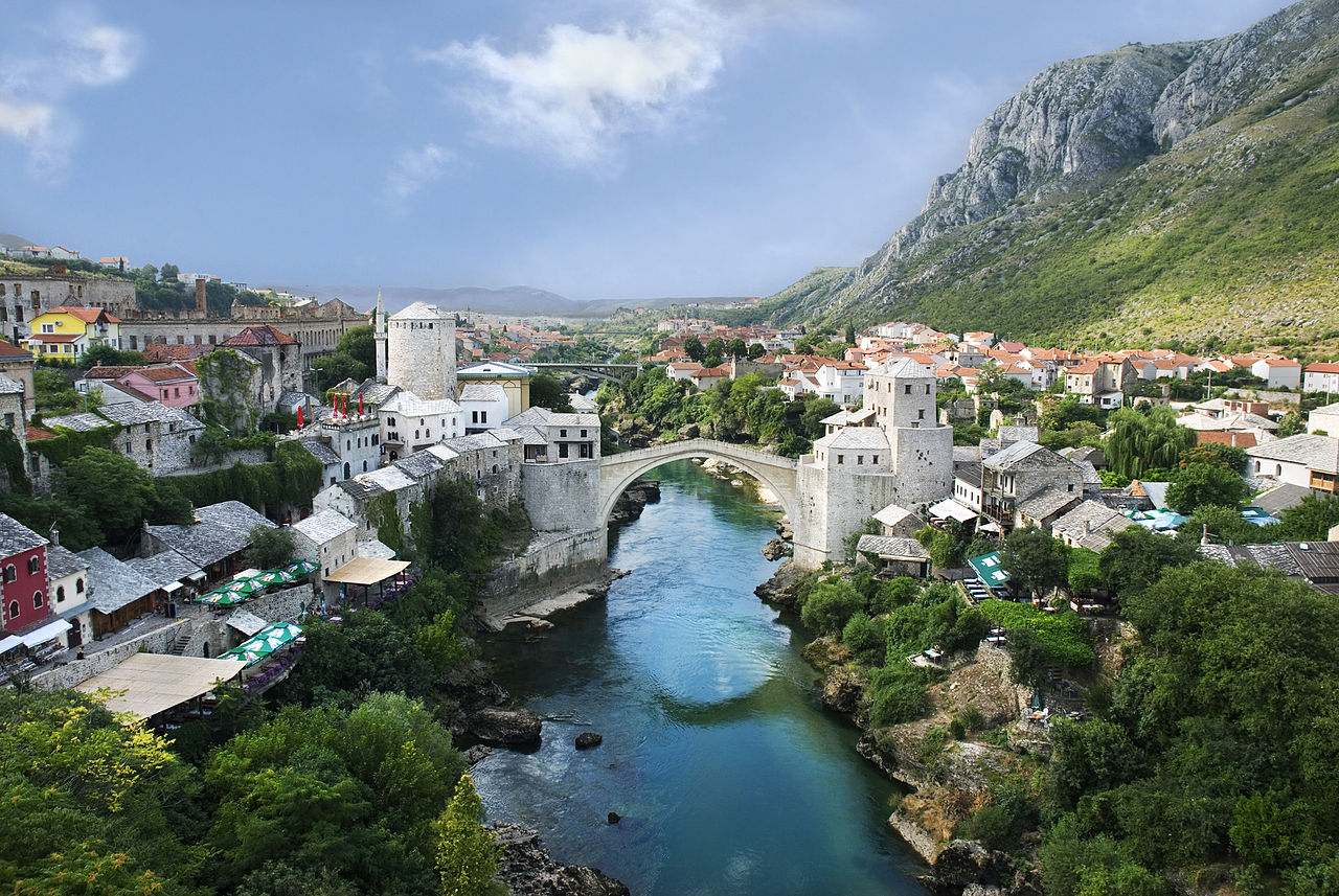 Old Town, Mostar, Bosnia and Herzegovina