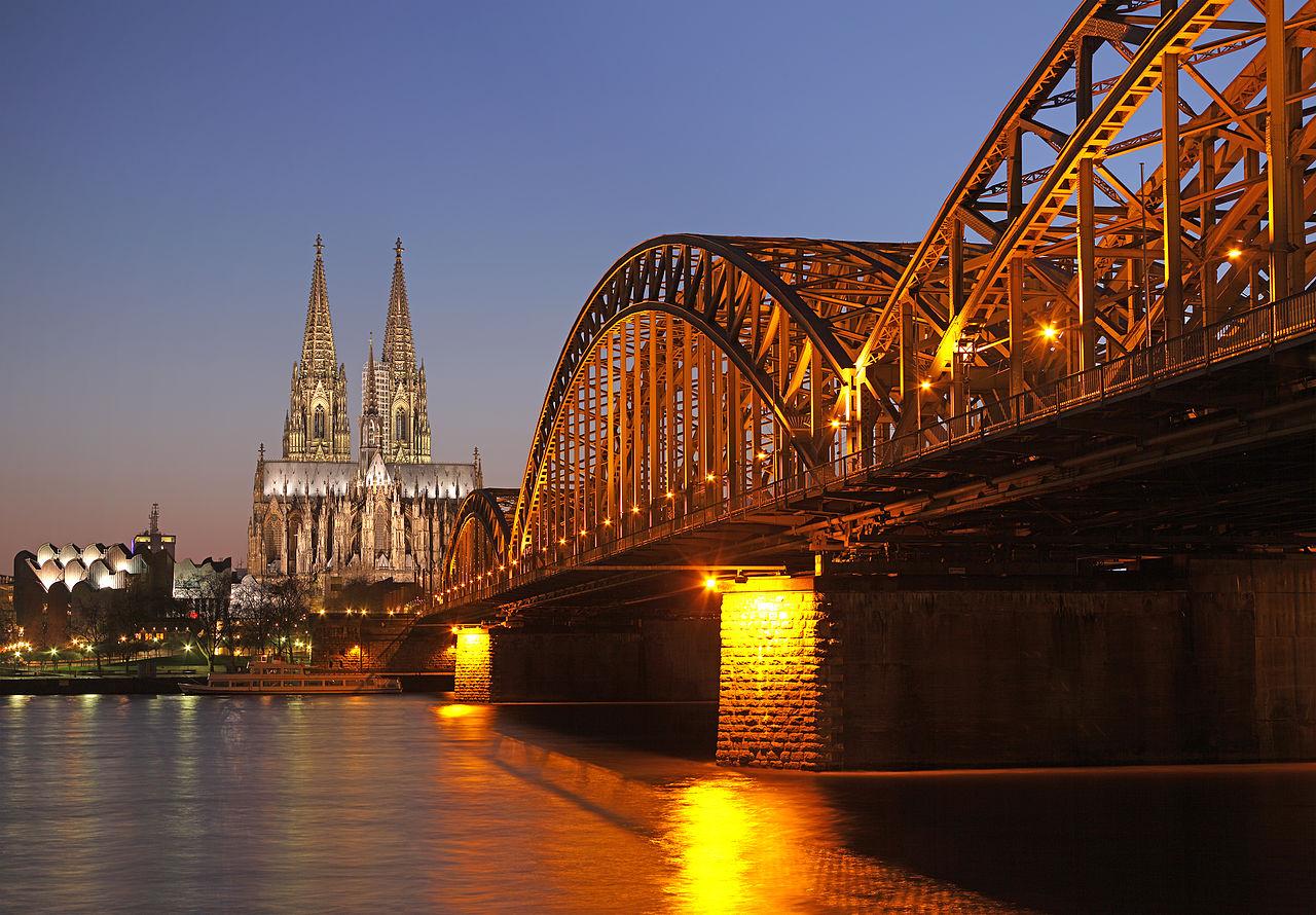 Hohenzollernbrucke Cologne