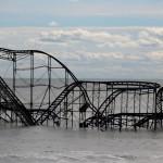 nj sandy storm roller coaster
