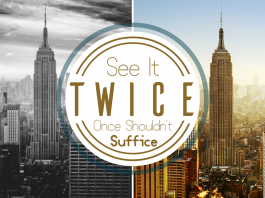 See it twice - give it a second chance