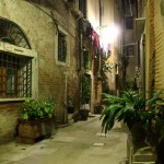 Venice Streets at Night