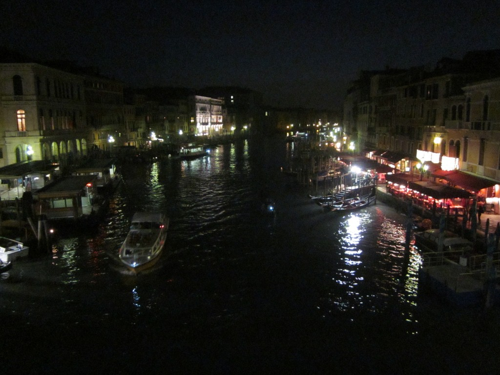 Trying to Sleep to Venice