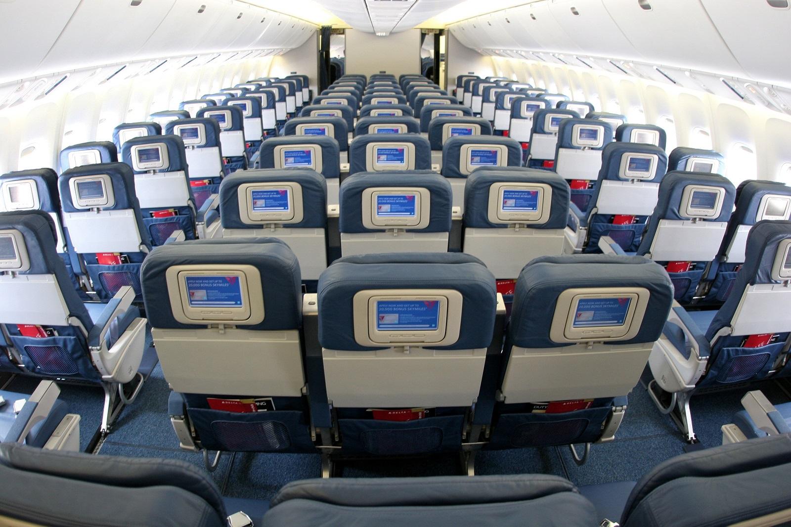 Delta Airlines Cabin