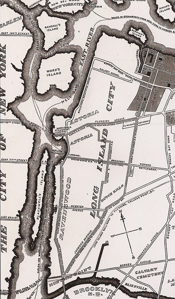 Long Island City map 1896