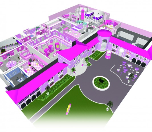 Barbie dreamhouse berlin 3d map dauntless jaunter travel for Dream house 3d