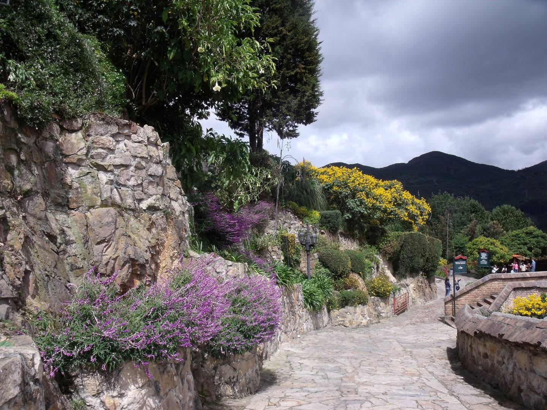 Gardens at Monserrate Bogota (2)