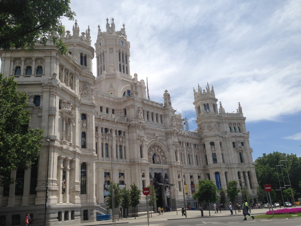 Palacio de Cibeles, Madrid, Spain 1