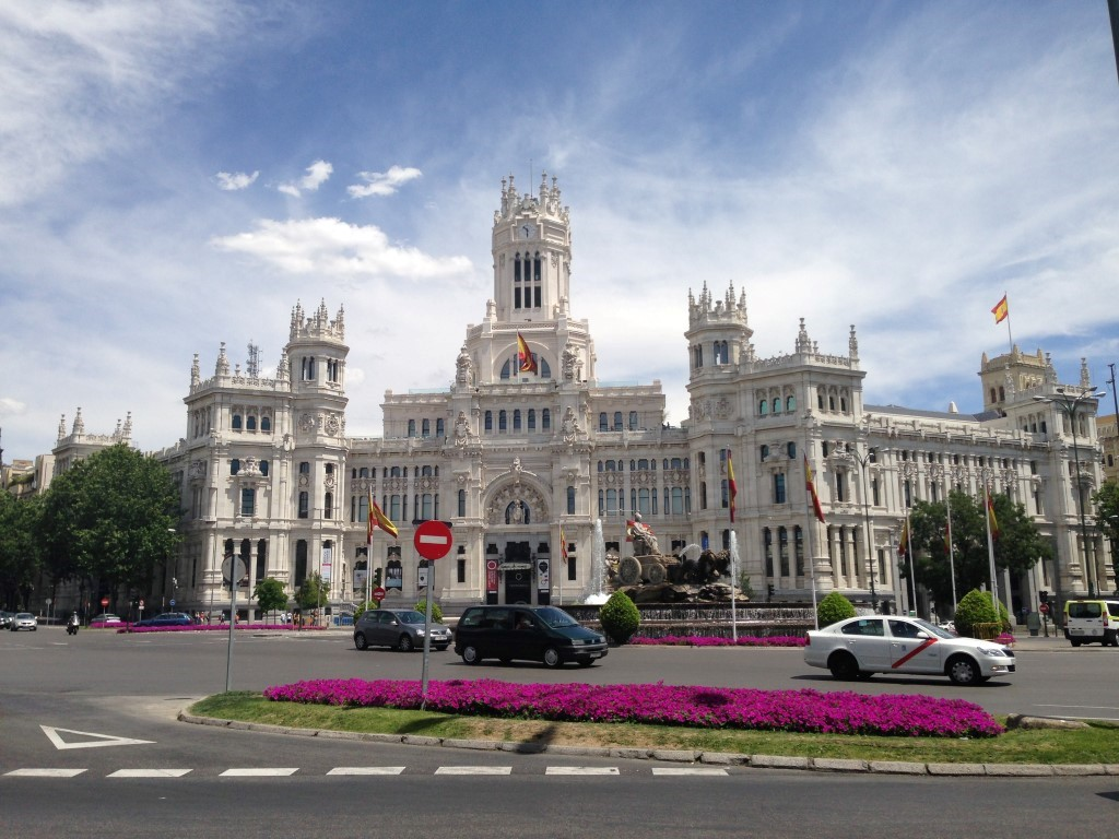 Palacio de Cibeles, Madrid, Spain 2