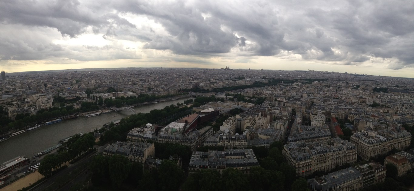 View from Eiffel Tower (1)