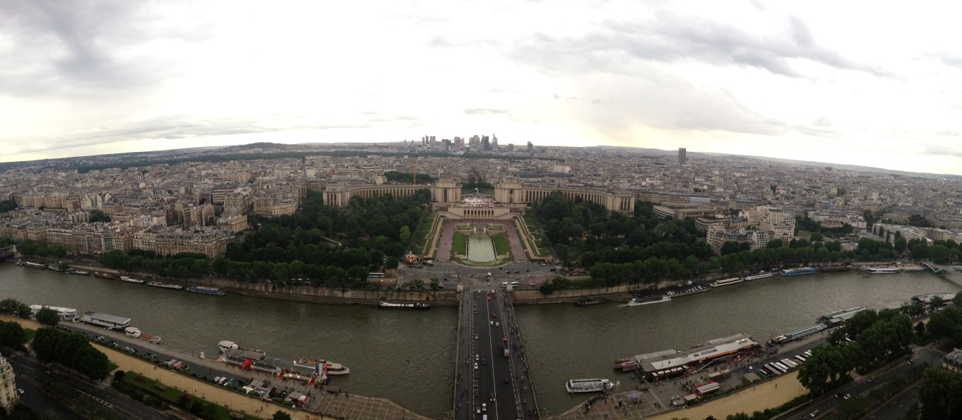 View from Eiffel Tower (4)
