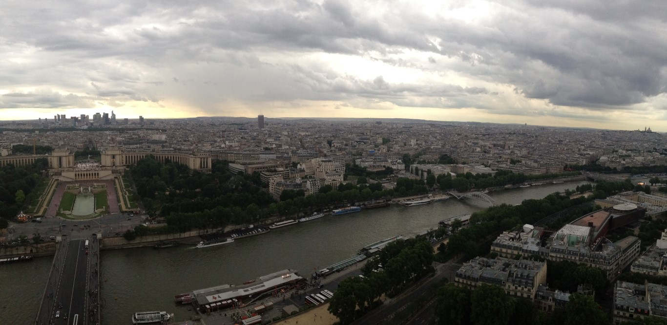 View from Eiffel Tower (5)