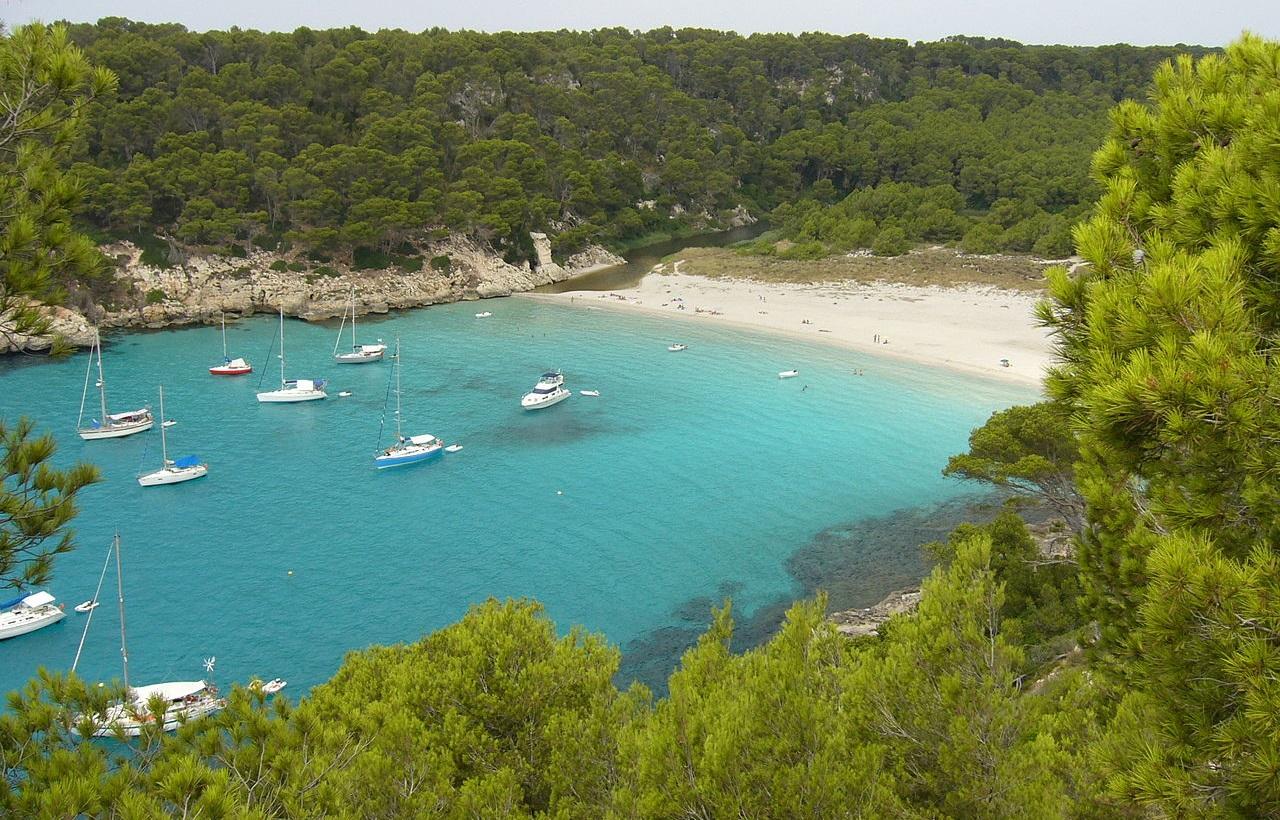 Cala Trebaluger Menorca
