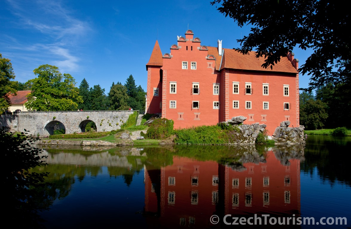 Červená Lhota Castle, South Bohemia, Czech Republic