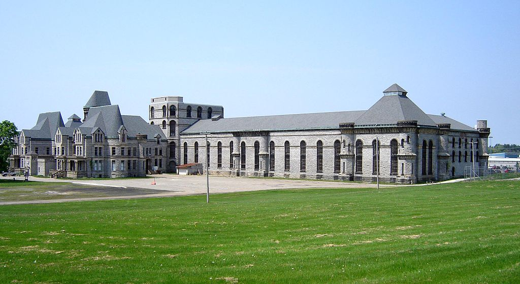 Ohio State Reformatory, taken by Wikimedia Commons user Mike Sharp.