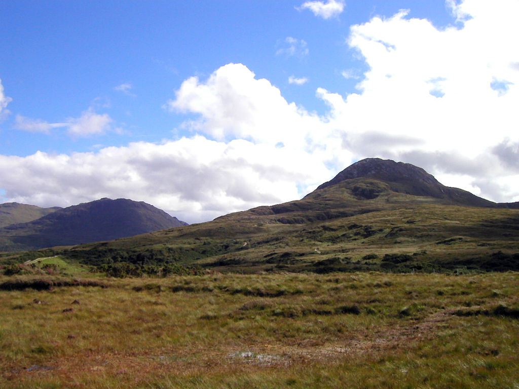 Connemara National Park, Diamond Head. Taken by Wikimedia Commons user Schorle.