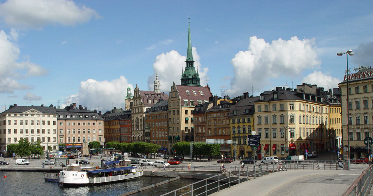 Stockholm's Old Town Gamla Stan