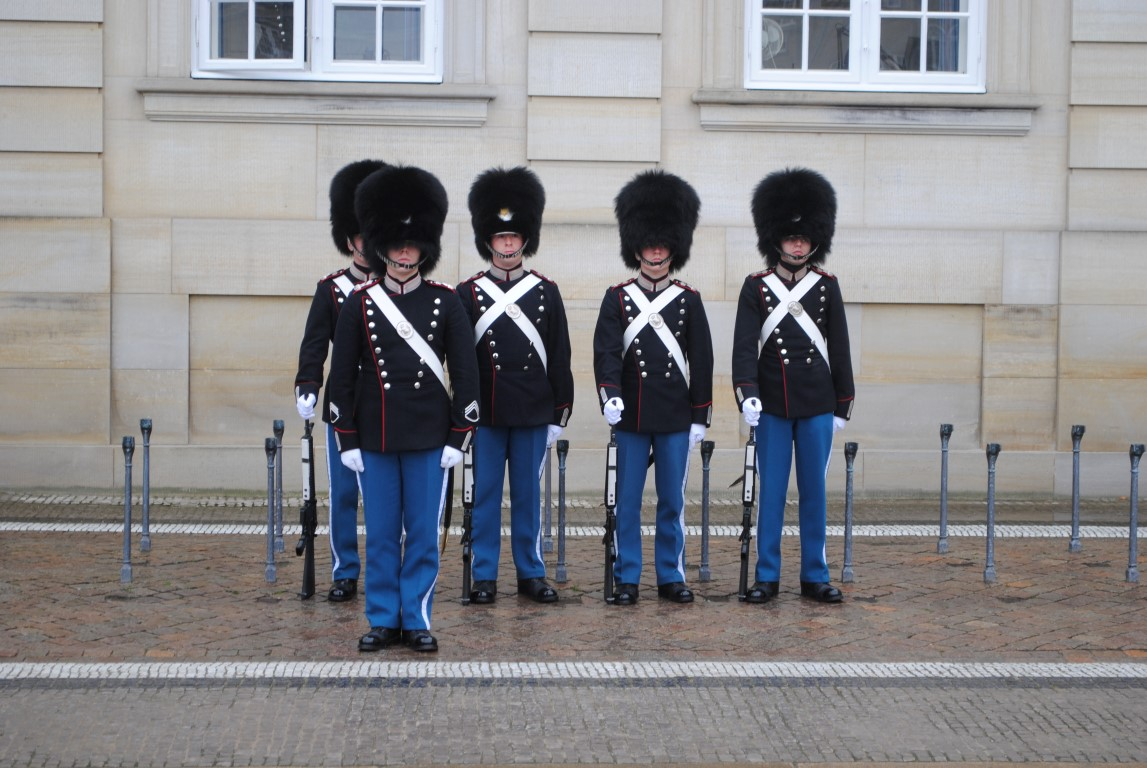 Post Replacement, Amalienborg, Copenhagen, Denmark (1)