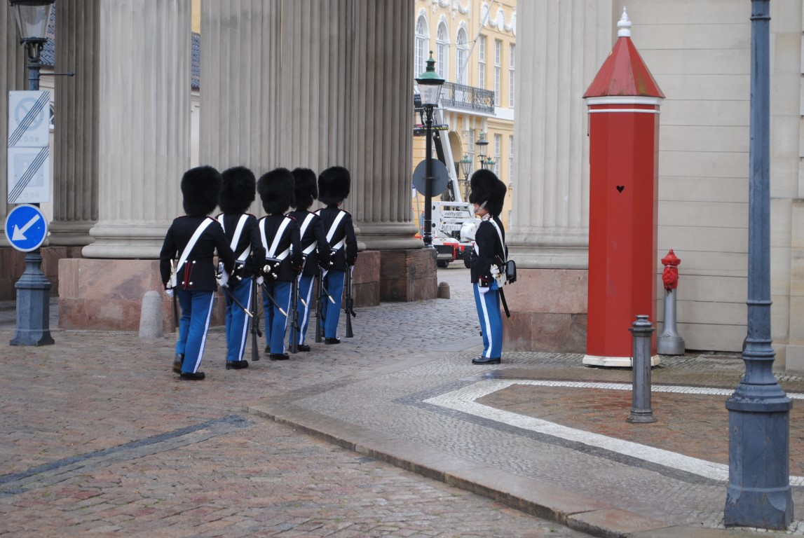 Post Replacement, Amalienborg, Copenhagen, Denmark (2)