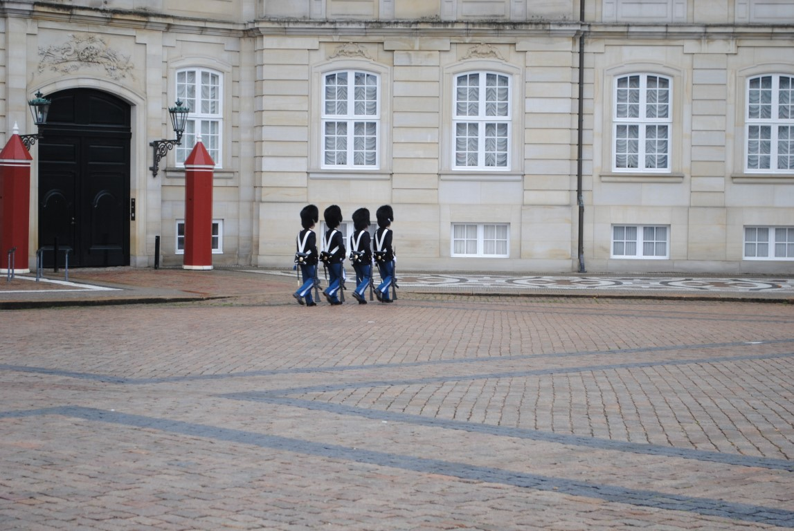 Post Replacement, Amalienborg, Copenhagen, Denmark (3)