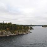 Approaching Stockholm on the Tallink Ferry