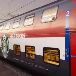 Starbucks on SBB Swiss Train