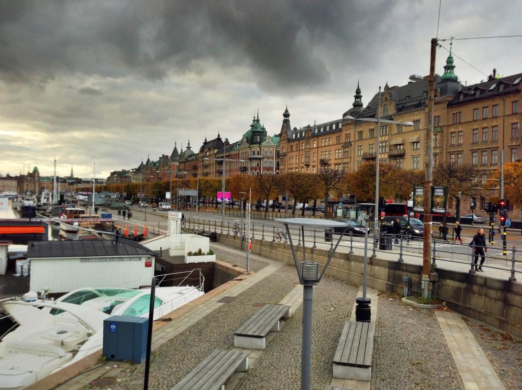 Strandvagen from Djurgardsbron, Stockholm