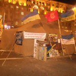 Maidan Nezalezhnosti Kiev After Protests