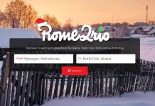 Rome2Rio homepage