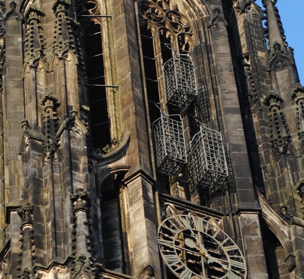 Cages of Munster's Lambertikirche