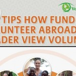 How to Fundraise Before Volunteering Abroad Infographic Featured