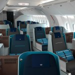 KLM Business Class Lie-Flat Seating