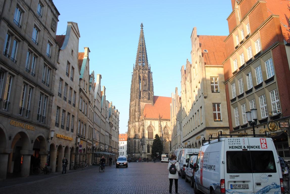 Martje at Lambertikirche Munster