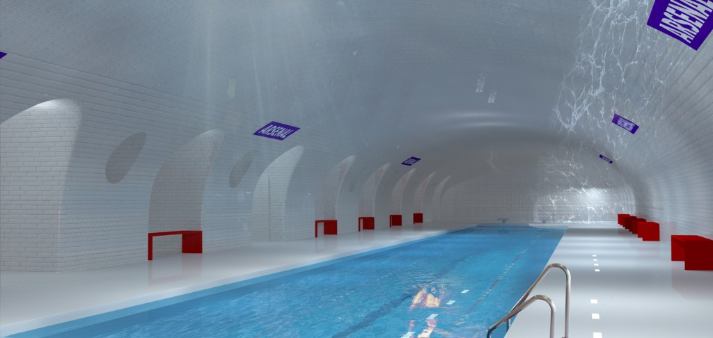 OXO Paris Underground Proposal - Pool