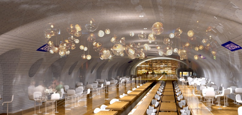 OXO Paris Underground Proposal - Gallery