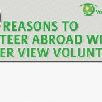 Reasons to Volunteer Abroad Infographic