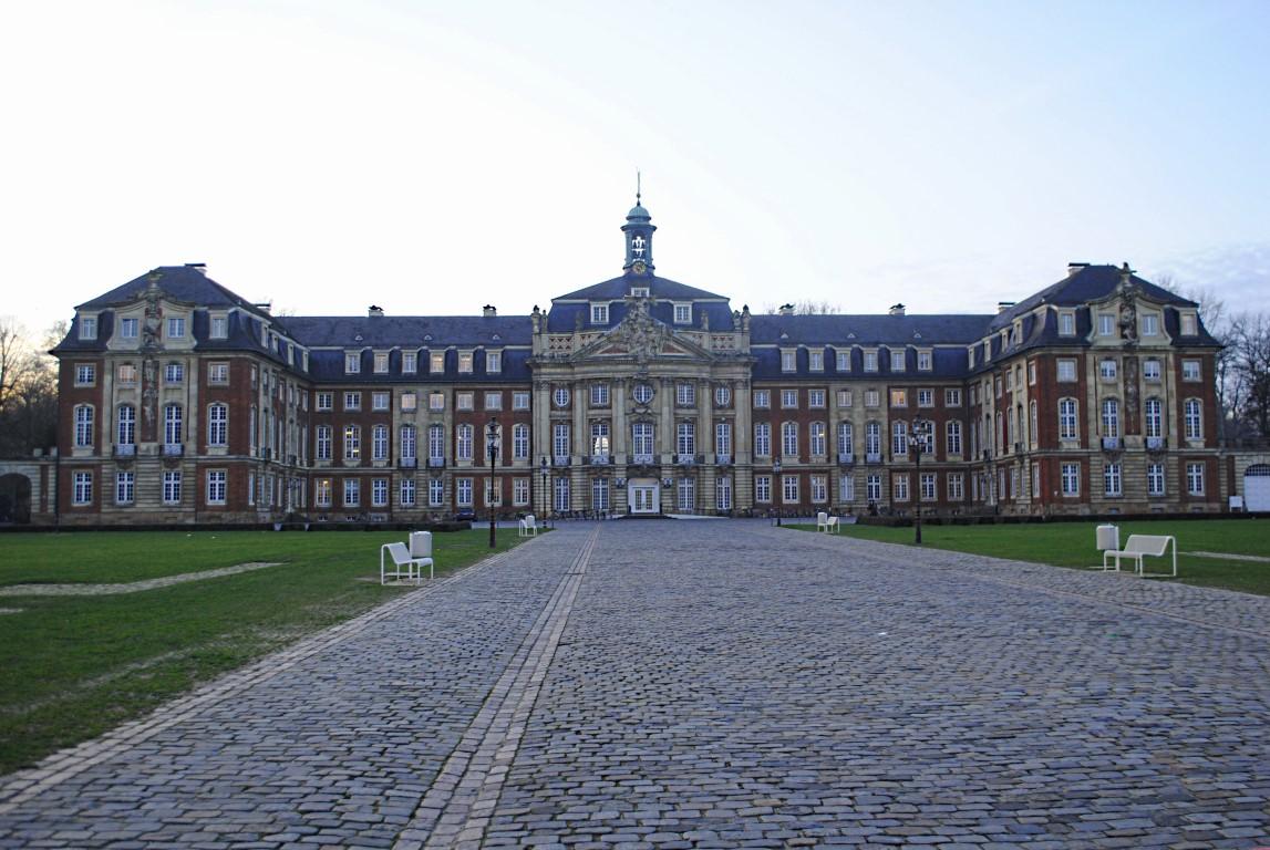 Fürstbischöfliches Schloss, Münster, Germany, University of Munster Castle